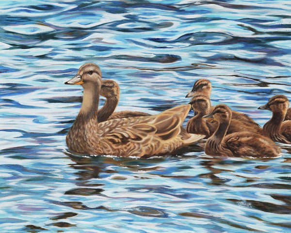 Painting - Mallards by Tammy Taylor