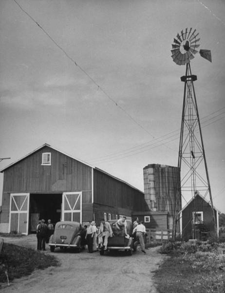 Agriculture Photograph - Farm Scenes Of Farm Life In The Midwest by Eliot Elisofon