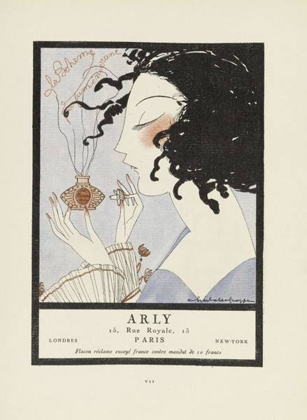 Wall Art - Painting - Fashion Poster 1900-1920s Series - 47 by Celestial Images