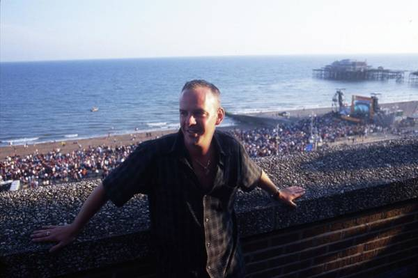 Norman Photograph - Fatboy Slim At Big Beach Boutique 1 by Martyn Goodacre
