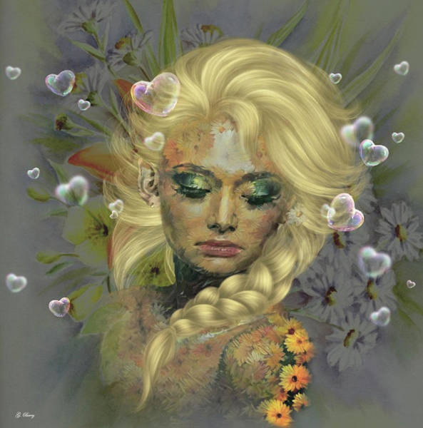 Wall Art - Mixed Media - Fertile Hearts by G Berry