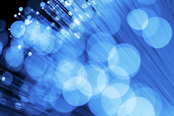Fiber Photograph - Fiber Optics by Janrysavy