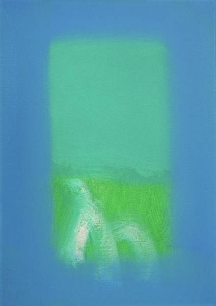 Wall Art - Painting - Field Of Green by Charles Stuart