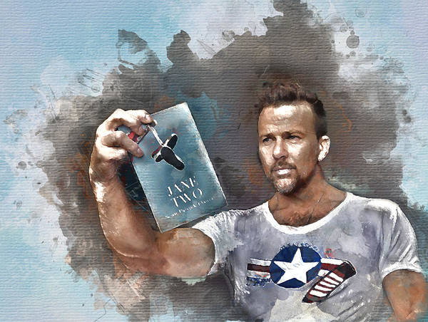 Digital Art - Flanery With Jane Two by Flanery Art Designs