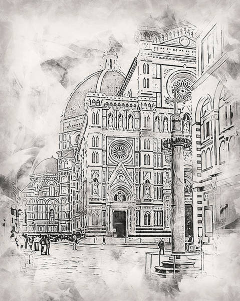 Painting - Florence - 35 by Andrea Mazzocchetti