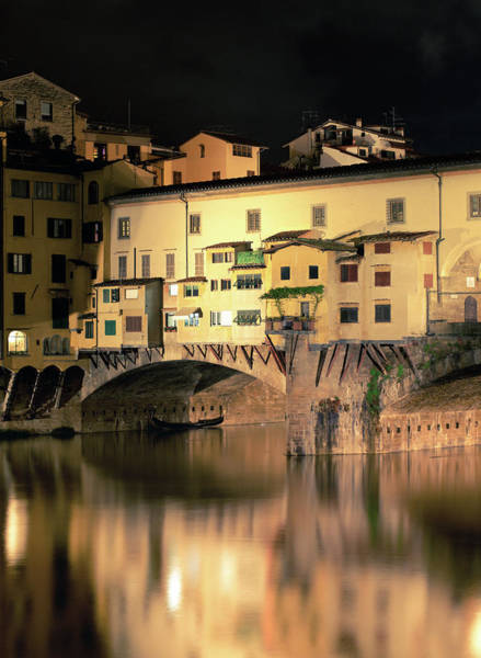 Photograph - Florence, Ponte Vecchio by Deimagine