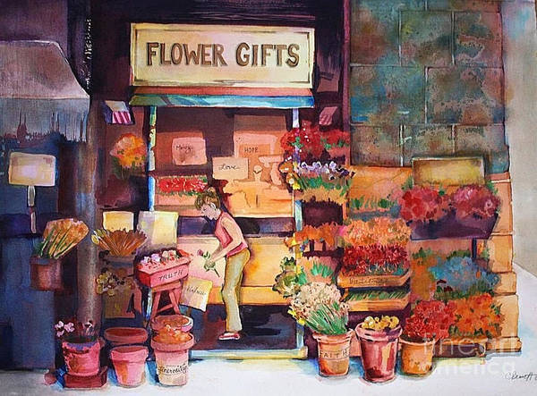 Wall Art - Painting - Flower Gifts  by Catherine Bennett