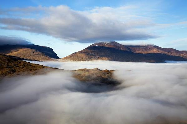 Killarney Photograph - Fog In The Valley At Molls Gap Near by Design Pics / Peter Zoeller