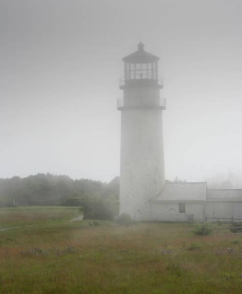 Wall Art - Photograph - Foggy Highland Light - Cape Cod by Brendan Reals