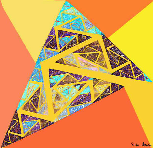 Digital Art - Follow The Arrow by Rein Nomm
