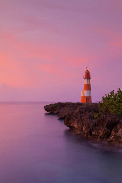 Wall Art - Photograph - Folly Point Lighthouse, Port Antonio by Douglas Pearson