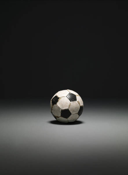 Ball Photograph - Football, Studio Shot by Max Oppenheim