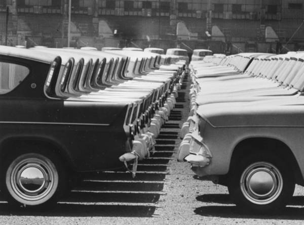 Photograph - Ford Bumpers by Central Press