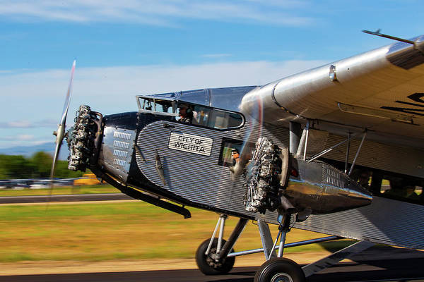 Photograph - Ford Tri-motor Airplane by Dart Humeston