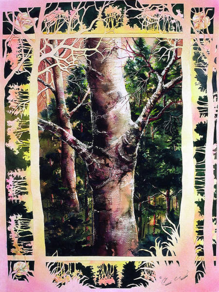 Painting - Forest Light by Connie Williams