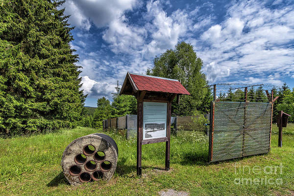 Photograph - Former German Border by Bernd Laeschke