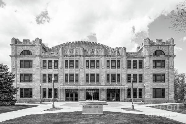 Photograph - Fort Hays State University Sheridan Hall  by University Icons