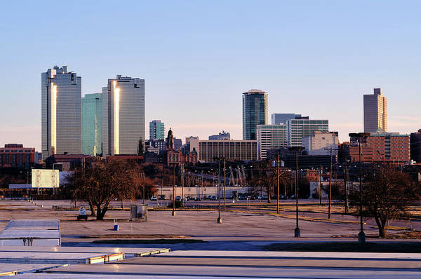 Photograph - Fort Worth Skyline V3 013119 by Rospotte Photography