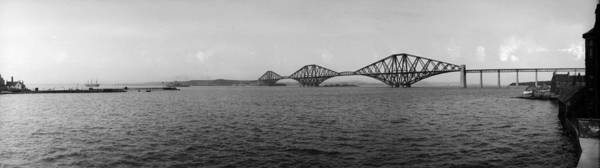 Wall Art - Photograph - Forth Bridge by Alfred Hind Robinson