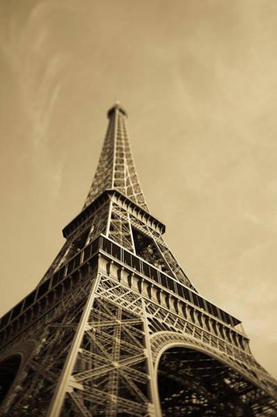 Dawn Photograph - France, Paris, Eiffel Tower At Dawn by Walter Bibikow