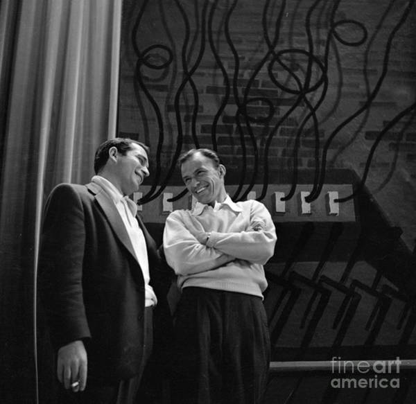 Photograph - Frank Sinatra Show by Cbs Photo Archive