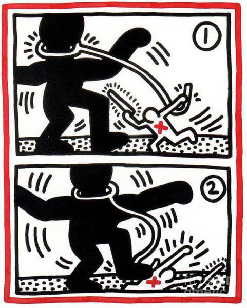 Wall Art - Painting - Free South Africa by Haring