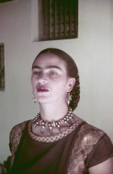 Photograph - Frida Kahlo by Michael Ochs Archives