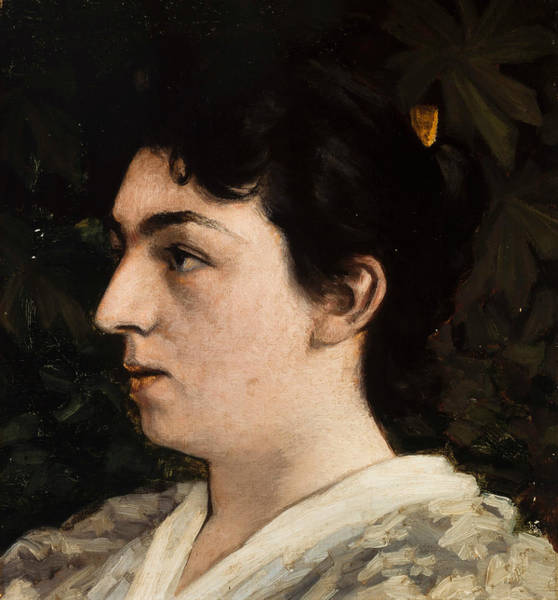 Painting - Frida Schytte by Valdemar Schonheyder Moller