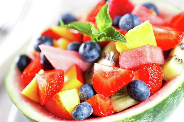Mangos Photograph - Fruit Salad by Svariophoto