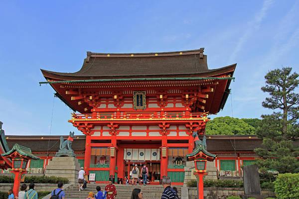 Photograph - Fushimi Inari-taisha Shrine - Kyoto, Japan by Richard Krebs