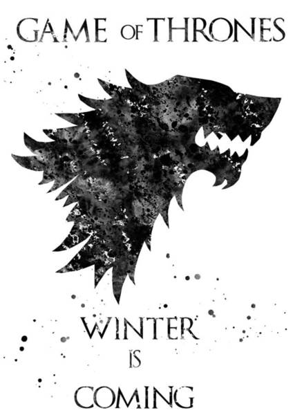 Wall Art - Digital Art - Game Of Thrones by Erzebet S