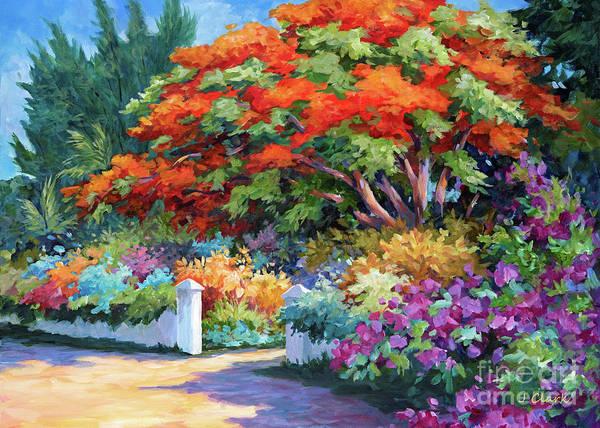 Wall Art - Painting - Garden Gate by John Clark