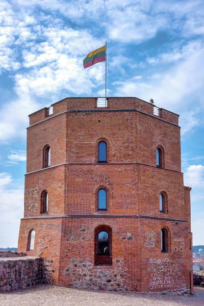 Photograph - Gediminas Tower by Fabrizio Troiani