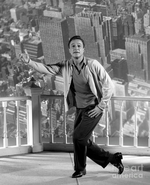 Photograph - Gene Kelly In New York, New York by Cbs Photo Archive