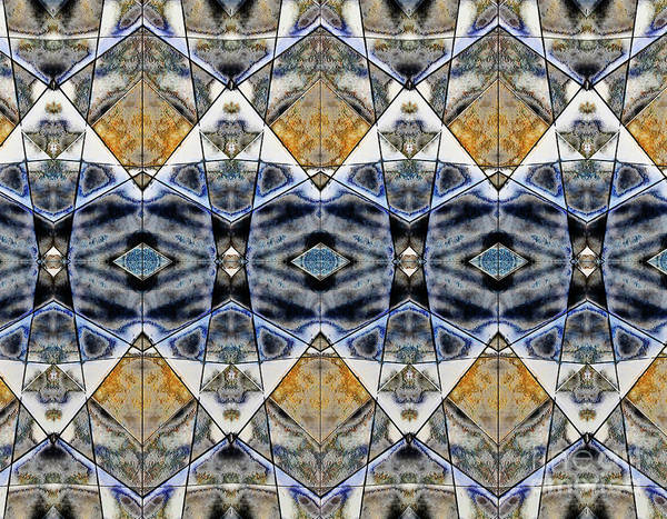 Wall Art - Photograph - Geometric Pattern Illustration by Tom Gowanlock
