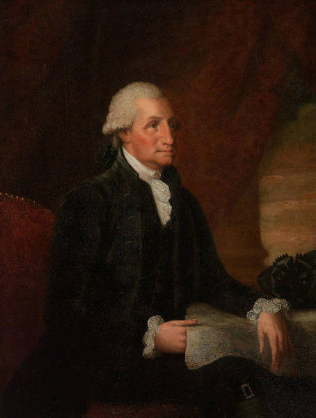 Wall Art - Painting - George Washington by Edward Savage
