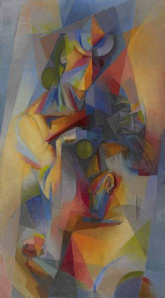 Gestation Painting - Gestation   by Stanton Macdonald Wright