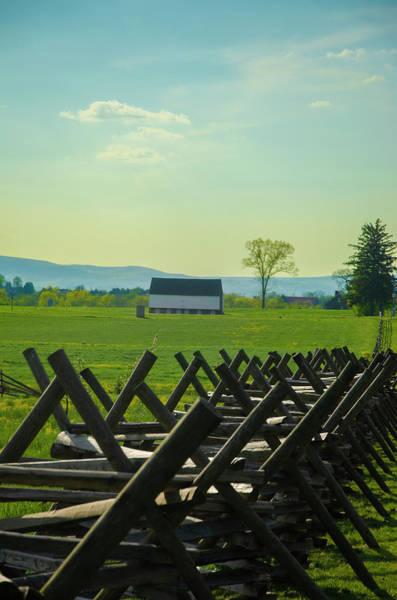 Wall Art - Photograph - Gettysburg Battlefield Farm by Bill Cannon