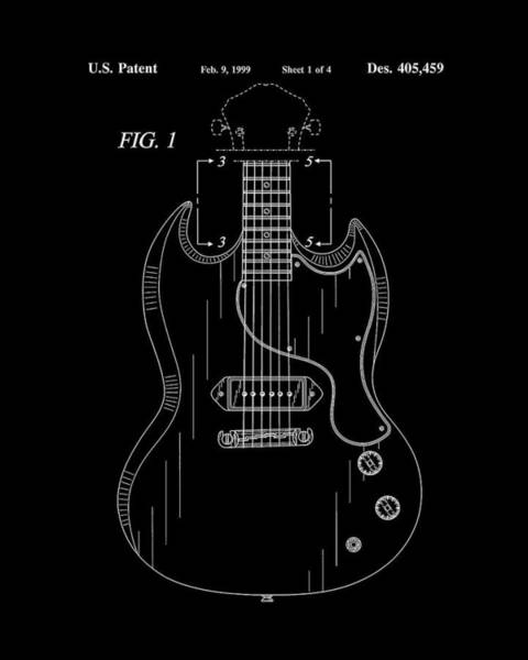 Strat Photograph - Gibson Electric Guitar by Tim Palmer