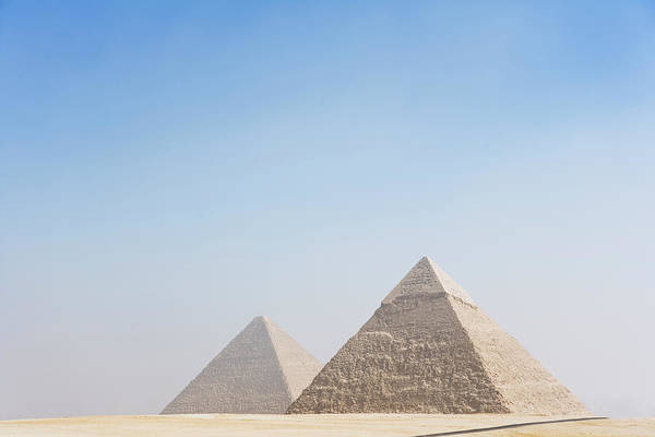 Giza Photograph - Giza Pyramids by Roine Magnusson