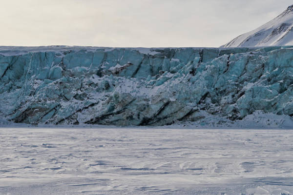 Photograph - Glacier Front On Svalbard by Kai Mueller
