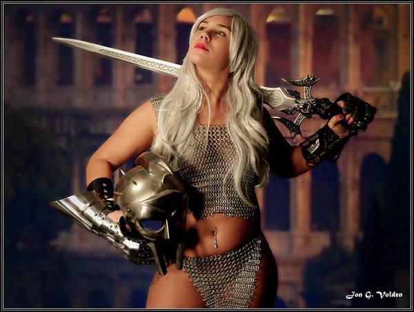 Photograph - Gladiator by Jon Volden