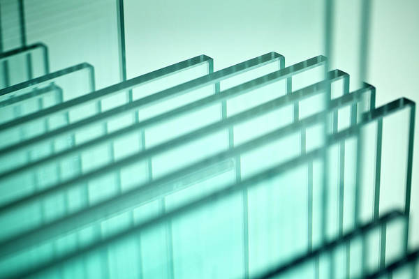 Material Photograph - Glass by Lepro