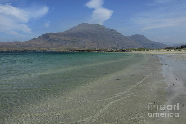 Photograph - Glassilaun Beach Connemara by Peter Skelton