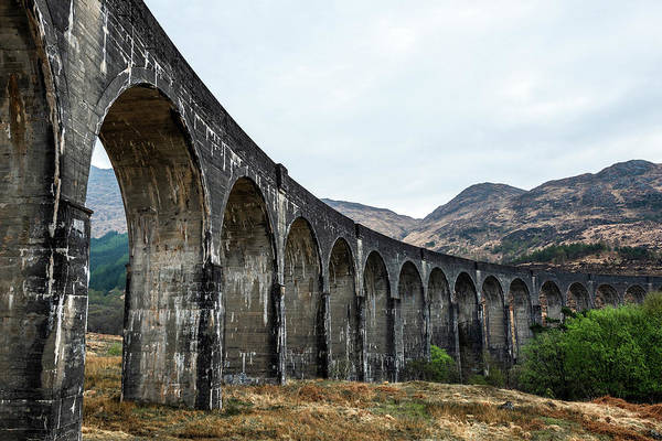 Wall Art - Photograph - Glenfinnan Viaduct by Svetlana Sewell