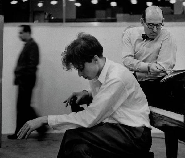 Horizontal Photograph - Glenn Gould by Gordon Parks
