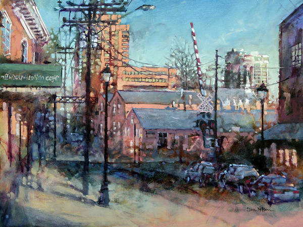 Wall Art - Painting - Glenwood And Jones by Dan Nelson