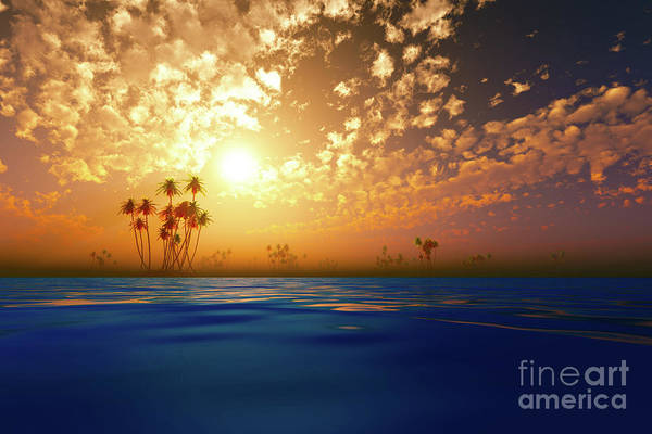 Wall Art - Photograph - Gold Sunset In Clouds by Aleksey Tugolukov