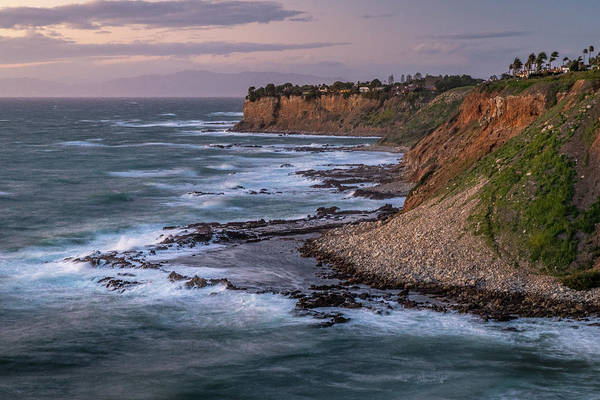 Photograph - Golden Cove At Sunset On A Windy Day by Andy Konieczny