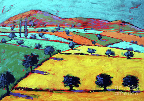Wall Art - Painting - Golden Valley by Paul Powis